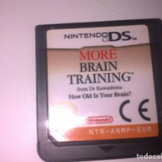 Videojuegos y Consolas: MORE BRAIN TRAINING. Lote 97230571