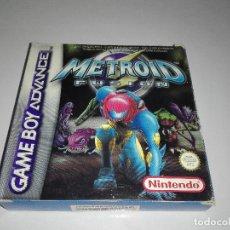 Videojuegos y Consolas: JUEGO NINTENDO GBA METROID FUSION GAME BOY ADVANCE. Lote 97594163