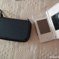 Videojuegos y Consolas: NINTENDO DS LITE. COLOR BLANCO. FUNDA. Lote 98061495