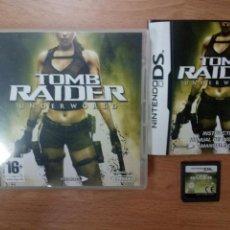 Videojuegos y Consolas: TOMB RAIDER UNDERWORLD - NINTENDO DS NDS - PAL ESP. Lote 98151883