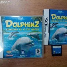 Videojuegos y Consolas: DOLPHINZ AVENTURAS EN EL ZOO MARINO - NINTENDO DS NDS - PAL ESP COMPLETO. Lote 98152399