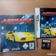 Videojuegos y Consolas: ASPHALT URBAN GT - NINTENDO DS NDS - PAL ESP COMPLETO. Lote 98152447