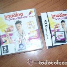 Videojuegos y Consolas: JUEGO NINTENDO DS IMAGINA SER DECORADORA. Lote 98354847