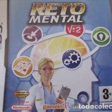 Videojuegos y Consolas: JUEGO NINTENDO DS RETO MENTAL. Lote 98355147