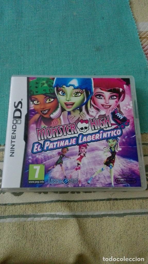 JUEGO MONSTER HIGH EL PATINAJE LABERINTICO PARA NINTENDO DS (Juguetes - Videojuegos y Consolas - Nintendo - DS)