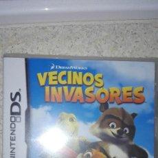 Videojuegos y Consolas: JUEGO PARA CONSOLA NINTENDO DS: VECINOS INVASORES. Lote 99563103