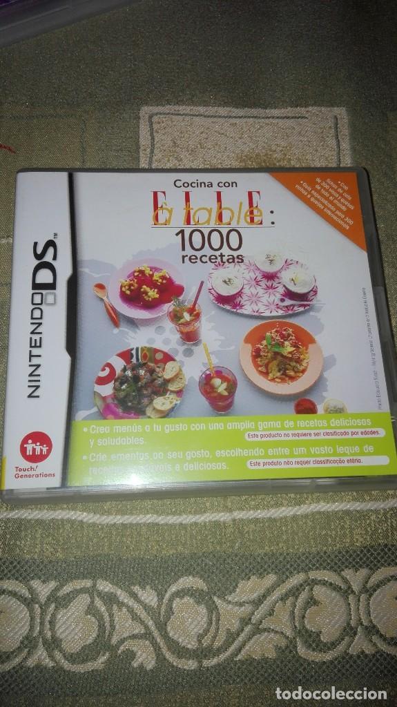 JUEGO PARA NINTENDO DS: COCINA CON ELLE A TABLE (1000 RECETAS) (Juguetes - Videojuegos y Consolas - Nintendo - DS)