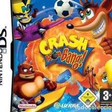 Videojuegos y Consolas: CRASH BOOM BANG (NINTENDO DS) - NUEVO. Lote 100859935