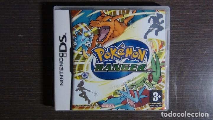 POKÉMON RANGER NINTENDO DS (COMPLETO) (Juguetes - Videojuegos y Consolas - Nintendo - DS)