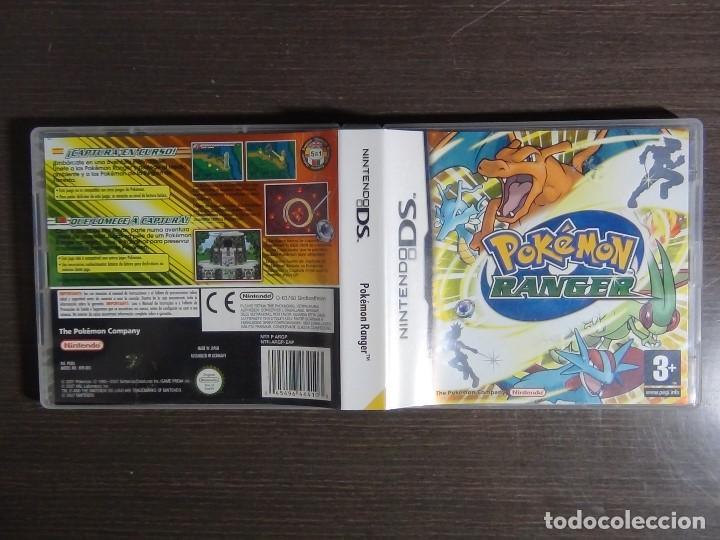 Videojuegos y Consolas: Pokémon Ranger Nintendo DS (Completo) - Foto 4 - 102042327