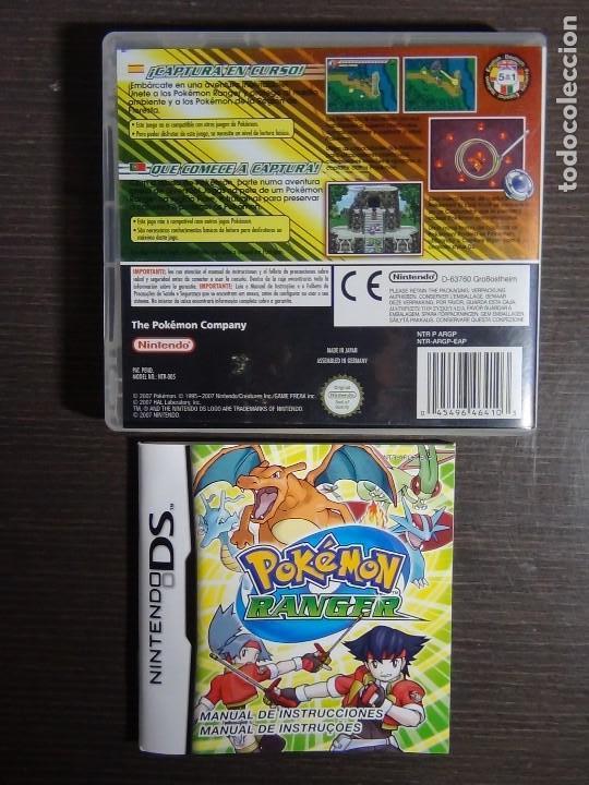 Videojuegos y Consolas: Pokémon Ranger Nintendo DS (Completo) - Foto 5 - 102042327