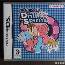 Videojuegos y Consolas: NINTENDO DS MR. DRILLER - DRILL SPIRITS - EL SR.. PERFORADOR TALADRO SPIRITS. Lote 102045671