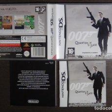 Videojuegos y Consolas: NINTENDO DS 007 QUANTUM OF SOLACE. Lote 102045867