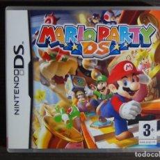 Videojuegos y Consolas: NINTENDO DS MARIO PARTY DS. Lote 102046171