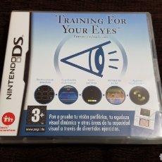 Videojuegos y Consolas: NINTENDO DS TRAINING FOR YOUR EYES ENTRENA Y RELAJA LA VISTA. Lote 102055284