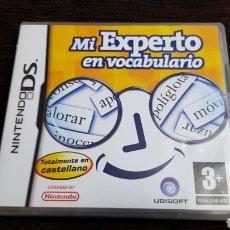 Videojuegos y Consolas: NINTENDO DS MI EXPERTO EN VOCABULARIO TOTALMENTE EN CASTELLANO. Lote 102055719
