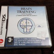 Videojuegos y Consolas: NINTENDO DS BRAIN TRAINING ¿CUANTOS AÑOS TIENE TU CEREBRO?. Lote 102056998