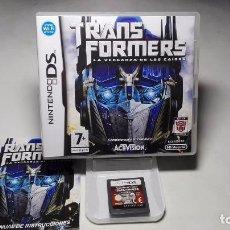 Videojuegos y Consolas: TRANSFORMERS - LA VENGANZA ( NINTENDO- DS- 3DS) JC2. Lote 102099659