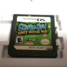 Videojuegos y Consolas: NINTENDO DS SCOOBY-DOO WHOS WACHING WHO?. Lote 102957611