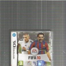Videojuegos y Consolas: FIFA 10 NINTENDO DS. Lote 104204343