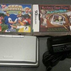 Videojuegos y Consolas: NINTENDO DS FAT + JUEGOS. Lote 106824060