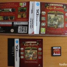 Videojuegos y Consolas: EL PROFESOR LAYTON Y LA CAJA DE PANDORA NDS. Lote 107274595
