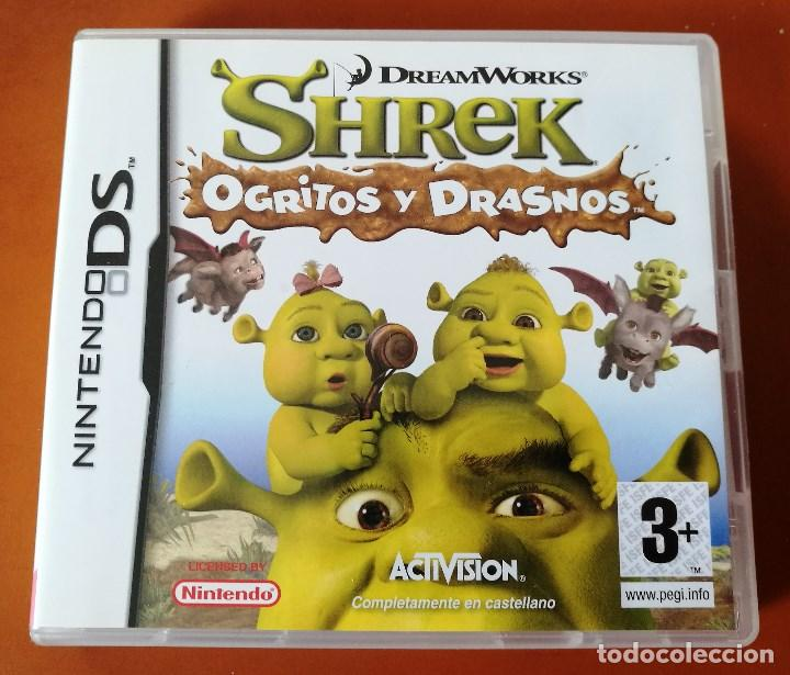 SHREK-OGRITOS Y DRASNOS (Juguetes - Videojuegos y Consolas - Nintendo - DS)