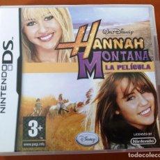 Videojuegos y Consolas: HANNAH MONTANA-LA PELICULA. Lote 107679371
