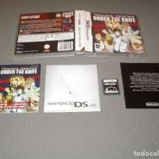 Videojuegos y Consolas: TRAUMA CENTER ( UNDER THE KNIFE ) - NINTENDO DS - ATLUS. Lote 108318695