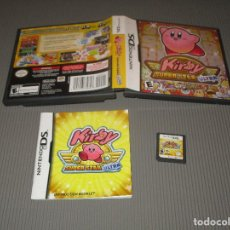 Videojuegos y Consolas: KIRBY ( SUPER STAR ULTRA ) - NINTENDO DS - EDICION NO ESPAÑOLA - SUPERSTAR. Lote 109042315