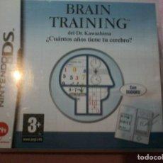 Videojuegos y Consolas: BRAIN TRAINING PARA NINTENDO DS | DSI | DSI XL. Lote 109045227