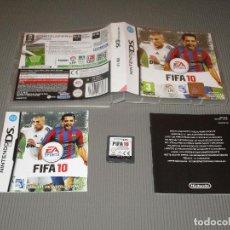 Videojuegos y Consolas: FIFA 10 - NINTENDO DS - EA SPORTS. Lote 109072931