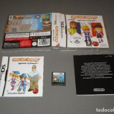 Videojuegos y Consolas: MIND YOUR LANGUAGE ( APPRENDS LE FRANÇAIS ! ) - NINTENDO DS - APRENDE FRANCES DE FORMA DIVERTIDA. Lote 109073203