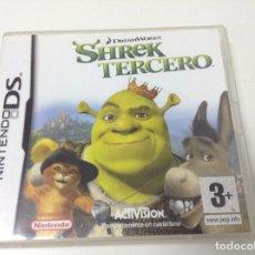 Videojuegos y Consolas: SHREK TERCERO. Lote 109311631