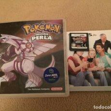 Videojuegos y Consolas: POKEMON EDICION PERLA NINTENDO DS NDS KREATEN. Lote 109407819
