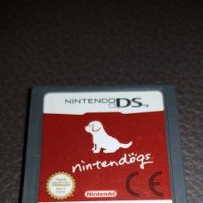 Videojuegos y Consolas: NINTEBDO DS JUEGO NINTENDOGS. Lote 109480280