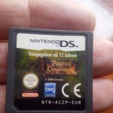 Videojuegos y Consolas: PIRATAS DEL CARIBE JUEGO NINTENDO DS. Lote 109727403