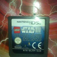 Videojuegos y Consolas: VIDEO JUEGO DE NINTENDO DS LEGO STAR WARS III. Lote 111272051