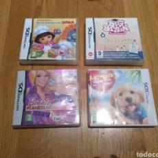 Videojuegos y Consolas: JUEGO NINTENDO DS Y 3DS. 4U. BARBIE, BIG BRAIN, DORA, ANIMALZ. INSTRUCCIONES.. Lote 112672007