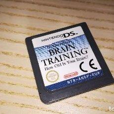 Videojuegos y Consolas: BRAIN TRAINING. NINTENDO DS. Lote 114393051