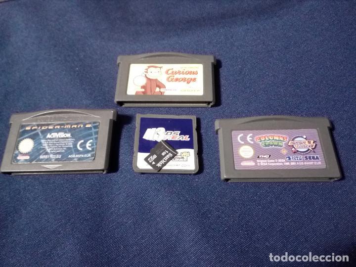 Videojuegos y Consolas: Videoconsola Portatil, Nintendo DS mod NTR-001, rosa perlado.Funciona.3 cartuchos juegos y tarjeta. - Foto 6 - 115455435