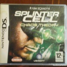 Videojuegos y Consolas: TOM CLANCY'S SPLINTER CELL: CHAOS THEORY - NDS. Lote 115504515