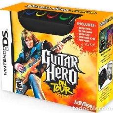 Videojuegos y Consolas: JUEGO PARA NINTENDO DS GUITAR HERO ON TOUR NUEVO NUNCA ABIERTO. Lote 115736939