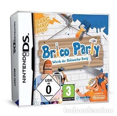 NINTENDO DS - BRICO PARTY ¡CUIDADO!, MANCHA NUEVO (Juguetes - Videojuegos y Consolas - Nintendo - DS)