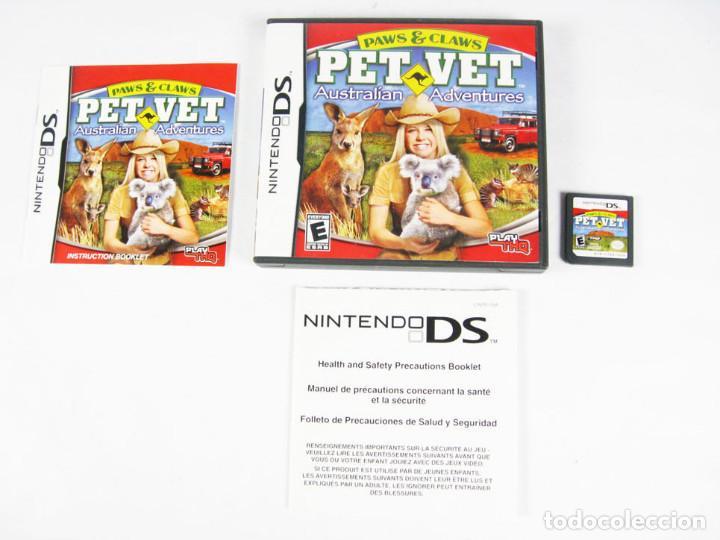 NINTENDO DS - PET VET AUSTRALIAN ADVENTURES ESPAÑOL (Juguetes - Videojuegos y Consolas - Nintendo - DS)