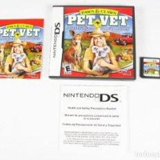 Videojuegos y Consolas: NINTENDO DS - PET VET AUSTRALIAN ADVENTURES ESPAÑOL. Lote 115737779