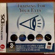 Videojuegos y Consolas: TRAINING FOUR YOUR EYES. Lote 115740571