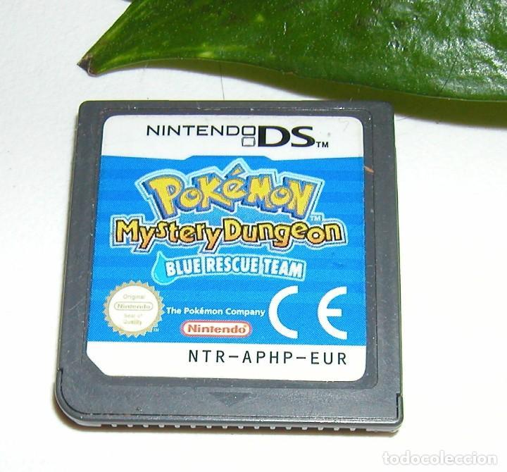 JUEGO DE NINTENDO DS - POKEMON MYSTERY DUNGEON - BLUE RESCUE TEAM SOLO EL CARTUCHO SIN CAJA (Juguetes - Videojuegos y Consolas - Nintendo - DS)
