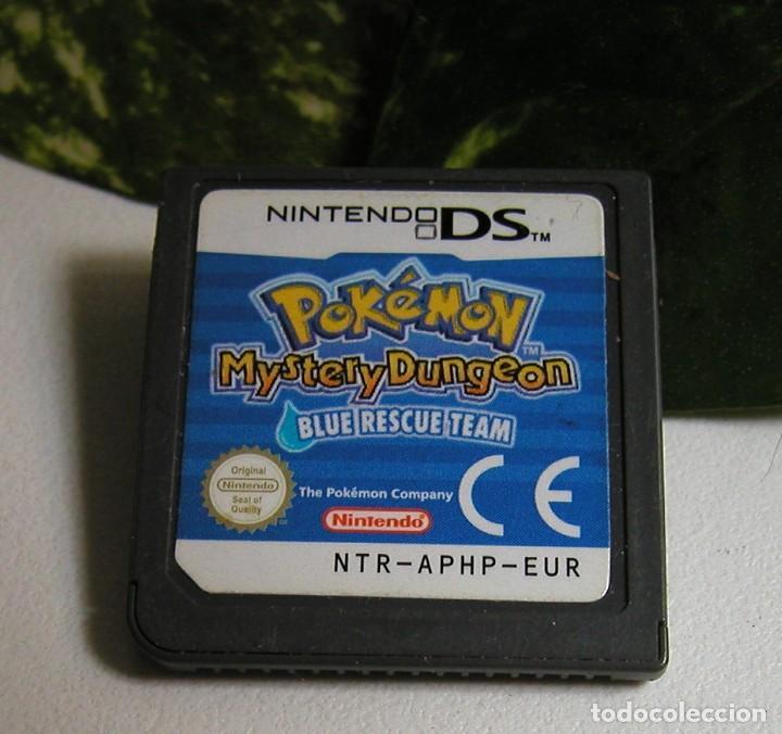 Videojuegos y Consolas: JUEGO DE NINTENDO DS - POKEMON MYSTERY DUNGEON - BLUE RESCUE TEAM SOLO EL CARTUCHO SIN CAJA - Foto 3 - 116221119