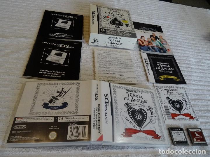 JUEGO PARA NINTENDO DS - MÁGIA EN ACCIÓN + NINTENDOGS (Juguetes - Videojuegos y Consolas - Nintendo - DS)
